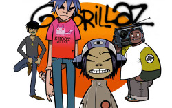Gorillaz. Фото с сайта myspace.com