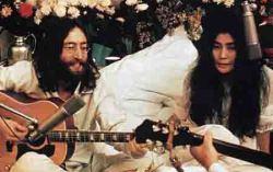 Оно и Леннон. Фото с сайта liveinternet.ru