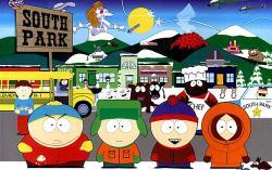 Постер мультфильма «Южный парк»