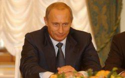 Кандидат в президенты Российской Федерации Владимир Путин.  Фото с сайта wn.com
