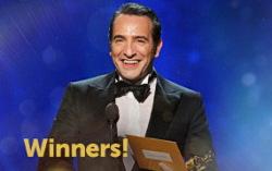 «Лучшая мужская роль» — Жан Дюжарден. Изображение с официального сайта премии
