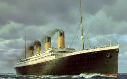 Лайнер «Титаник». Изображение с сайта wacko.livejournal.com
