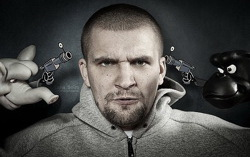Баста. Фото с сайта hip-hop.ru