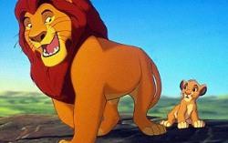 Кадр из мультфильма «Король-Лев»
