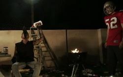 Кадр из клипа David Lynch — «Crazy Clown Time»