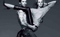 Фотосессия пары в русском Vogue. Фото с сайта pda.privet.ru