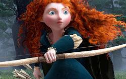Последний на данный момент проект студии Pixar  — «Храбрая сердцем». Кадр из мультфильма