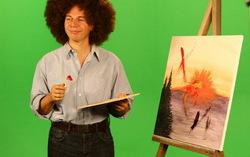Кадр из клипа «Мумий Тролль» — «Hey Tovarish!»
