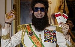 Саша Барон Коэн в роли диктатора Аладина. Фото с сайта kinopoisk.ru