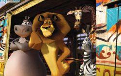 Кадр из мультфильма «Мадагаскар 3»