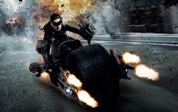 Фрагмент постера к фильму «Темный рыцарь: Возрождение легенды»