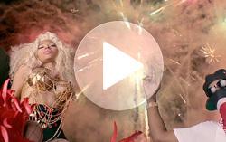 Кадр из клипа Ники Минаж