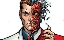 Двуликий из комиксов про Бэтмена. Изображение с сайта batmanlive.be
