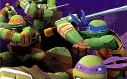 Постер к новому мультсериалу «Черепашки-ниндзя»