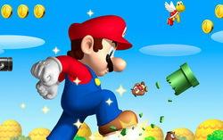 Игра «Марио». Изображение с сайта nawayugaya.blogspot.com