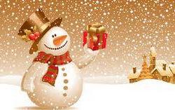 Снеговик. Изображение с сайта blogs.mail.ru