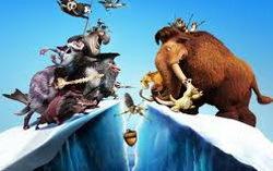 Кадр из мультфильма «Ледниковый период 4»