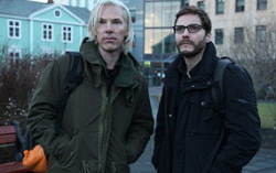 Бенедикт Камбербэтч и Даниэль Брюль. Фото —  Entertainment Weekly