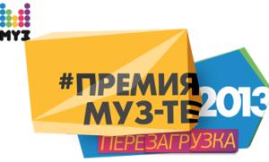 Премия Муз-ТВ 2013